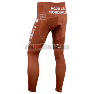 2014 Team AG2R LA MONDIALE Cycling Long Pants