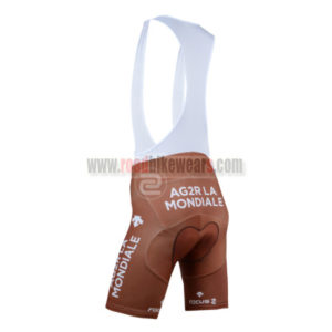 2014 Team AG2R LA MONDIALE Riding Bib Shorts