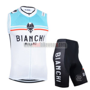 2014 Team BIANCHI Cycling Tank Top Kit