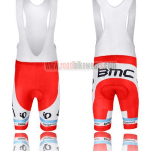 2014 Team BMC Cycling Bib Shorts Blue Red