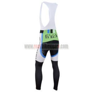 2014 Team Cannondale Riding Long Bib Pants Black White