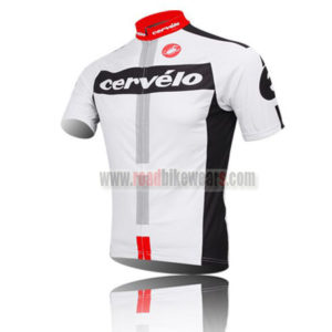 2014 Team Cervelo Pro Bike Jersey White