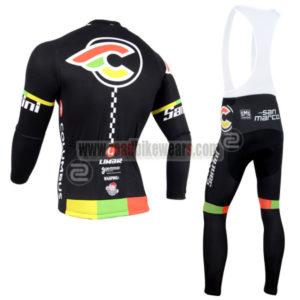 2014 Team Cinelli Santini Riding Long Bib Kit
