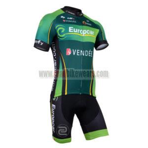 2014 Team Europcar Pro Cycling Kit Green