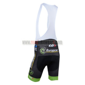 2014 Team Europcar Riding Bib Shorts