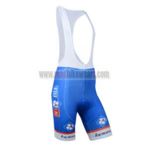 2014 Team FDJ Pro Bike Riding Wear Cycle Padded Bib Shorts Bottoms Ciclismo  Roupas Blue 36c8ad7ff
