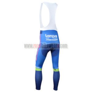 2014 Team Lampre Biking Long Bib Pants