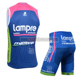 2014 Team Lampre MERIDA Cycling Tank Top Kit