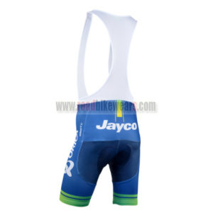 2014 Team ORICA GreenEDGE Riding Bib Shorts Blue