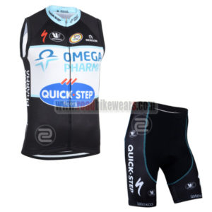 2014 Team QUICK STEP Bicycle Tank Top Kit