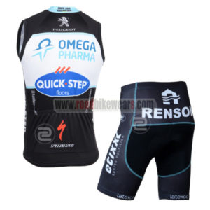 2014 Team QUICK STEP Cycling Tank Top Kit