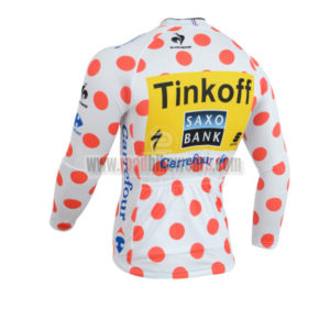 2014 Team SAXO BANK Tour de France Cycling Long Jersey Polka Dot
