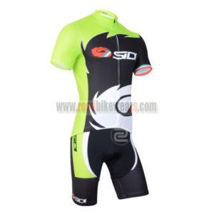 2014 Team SIDI Pro Bicycle Kit Green Black