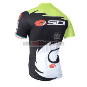 2014 Team SIDI Pro Bike Jersey Green Black