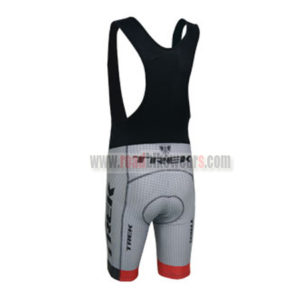 2014 Team TREK Biking Bib Shorts Black Grey