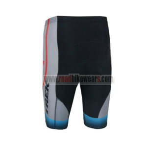 2014 Team TREK Biking Shorts Grey Blue Red