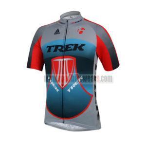 2014 Team TREK Pro Riding Clothing Biking Jersey Top Shirt Maillot Cycliste  Grey Blue Red 3b54d9268