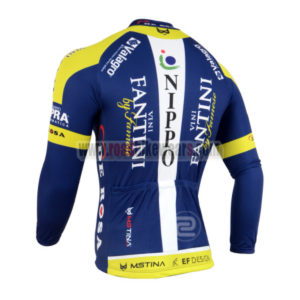 2014 Team VINI FANTINI Bicycle Long Jersey