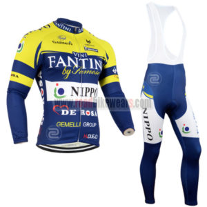 2014 Team VINI FANTINI Cycling Long Bib Kit