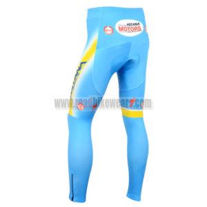2014 Team air ASTANA Bicycle Long Pants Blue