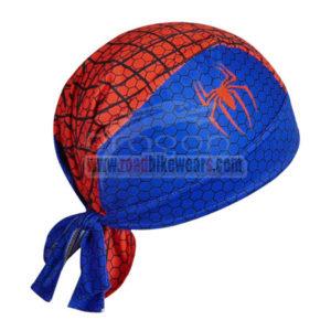 2014 The Amazing Spiderman Riding Bandana Head Scarf Red Blue