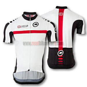 2015 Team ASSOS Riding Jersey White Red
