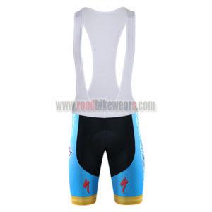 2015 Team ASTANA Cycling Bib Shorts Blue