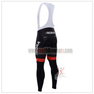 2015 Team BORA ARGON 18 Biking Long Bib Pants Tights Black