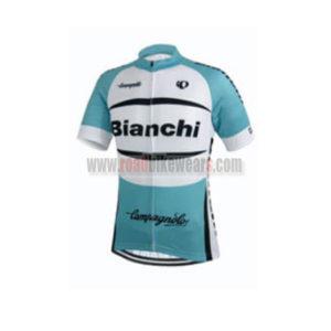 7b65d92f2 2015 Team Bianchi Pro Riding Clothing Biking Jersey Top Shirt Maillot  Cycliste White Blue