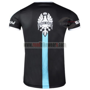 2015 Team Bianchi Cycling Outdoor Sport Apparel Sweatshirt Round Neck T-shirt Black