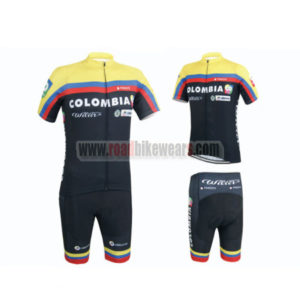 2015 Team COLOMBIA Bicycle Kit Black