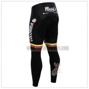 2015 Team COLOMBIA Biking Long Pants