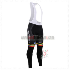 2015 Team COLOMBIA Cycling Long Bib Pants