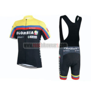 2015 Team COLOMBIA Riding Bib Kit Black2015 Team COLOMBIA Riding Bib Kit Black