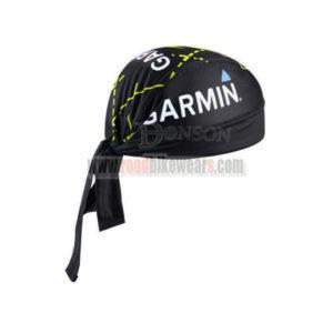 2015 Team Cannondale GARMIN Riding Bandana Head Scarf Black