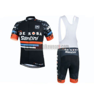 2015 Team DE ROSA Santini Cycling Bib Kit
