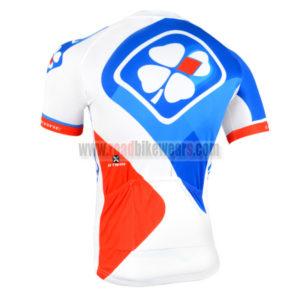 2015 Team FDJ Biking Jersey Blue White