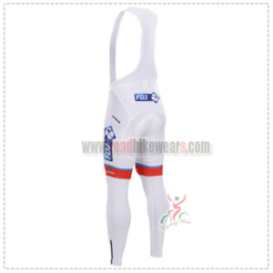2015 Team FDJ Riding Long Bib Pants