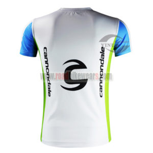 2015 Team GARMIN Cannondale Cycling Outdoor Sport Apparel Sweatshirt Round Neck T-shirt White