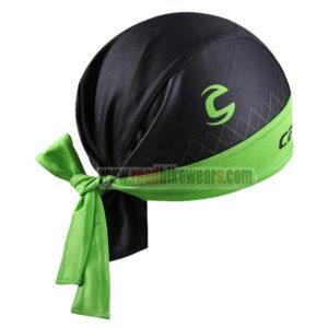a0294f5942a 2015 Team GARMIN cannondale Cycle Gear Riding Bandana Head Scarf Black Green