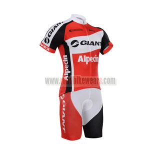 2015 Team GIANT Alpecin Riding Outfit Cycle Jersey and Padded Shorts Roupas  Bicicleta Red White 8dcccab85