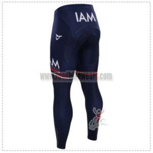 2015 Team IAM SCOTT Bicycle Long Pants Tights Blue