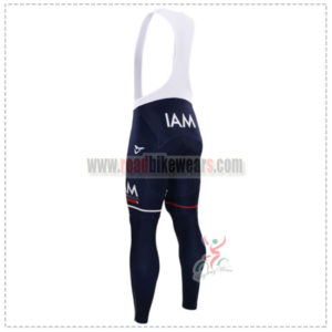 2015 Team IAM SCOTT Riding Long Bib Pants Tights Blue
