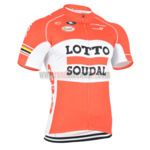 af73a73b3 2015 Team LOTTO SOUDAL Road Bike Wear Riding Jersey Top Shirt Maillot  Cycliste Red White