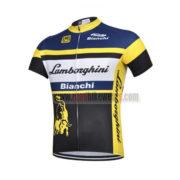 2015 Team Lamborghini Bianchi Bicycle Jersey