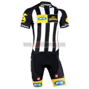 2015 Team MTN Bicycle Kit Black White