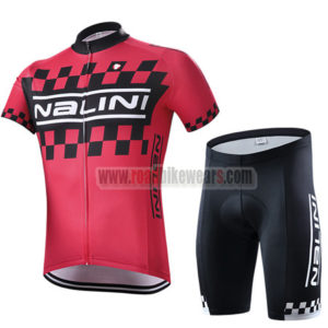 2015 Team Nalini Riding Outfit MTB Cycle Jersey and Padded Shorts Roupas  Bicicleta Red 3c71a6634