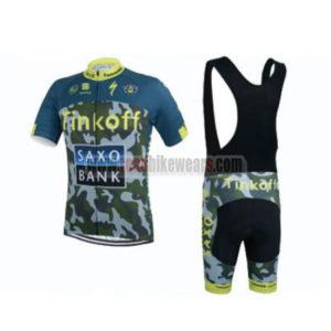 2015 Team Tinkoff SAXO BANK Biking Uniform Cycle Jersey and Padded Bib  Shorts Roupas Bicicleta 45fb490cb