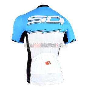 2015 Team SIDI Bicycle Jersey Blue White