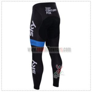 2015 Team SKY Bicycle Pants Tights Black